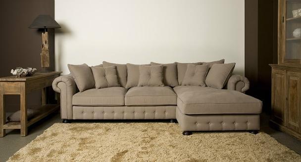Landhaus Ecksofa loungesofa ecke landhaus stil sofas sessel stühle bei möbelhaus