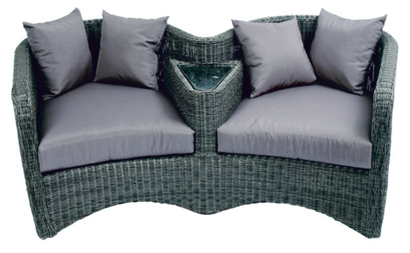 loveseat pellegrino aus polyrattan garten bei m belhaus hamburg. Black Bedroom Furniture Sets. Home Design Ideas