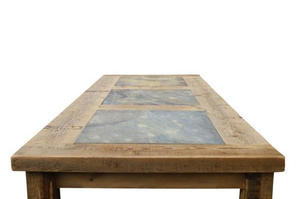 esstisch mit steinplatte