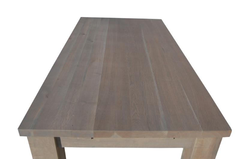 Tisch Eiche Geräuchert massiver esstisch aus eiche geräuchert grau tische landhaus