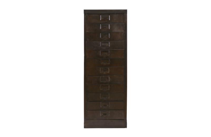 metallschrank mit schubladen schubladenkommoden kommoden sideboards industrielle m bel. Black Bedroom Furniture Sets. Home Design Ideas