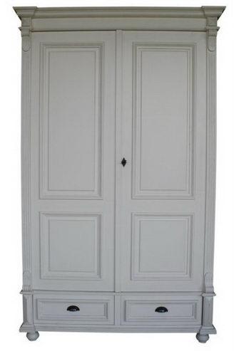 multifunktionaler kleiderschrank im landhausstil weiß - schränke, Wohnideen design