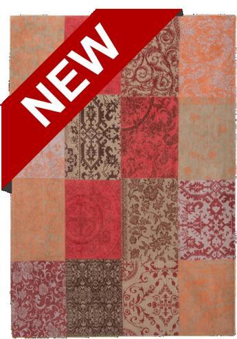patchwork teppich beige orange accessoires bei m belhaus. Black Bedroom Furniture Sets. Home Design Ideas