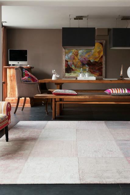 patchwork teppich vintage optik teppiche accessoires bei m belhaus hamburg. Black Bedroom Furniture Sets. Home Design Ideas
