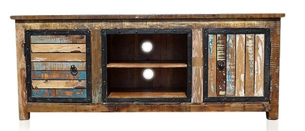 Tv möbel aus altholz  Recycling Holz Vintage TV Sideboard aus Massivholz - Kommoden ...