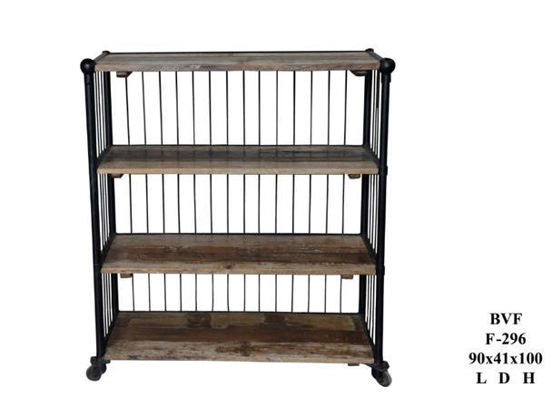 regal aus altholz und eisen industrial regale industrielle m bel bei m belhaus hamburg. Black Bedroom Furniture Sets. Home Design Ideas