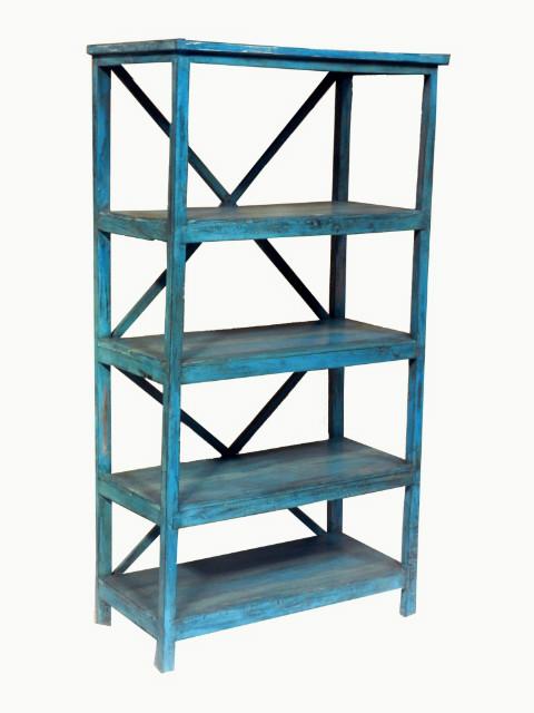 regal blau indisch antik schr nke vintage m bel bei m belhaus hamburg. Black Bedroom Furniture Sets. Home Design Ideas