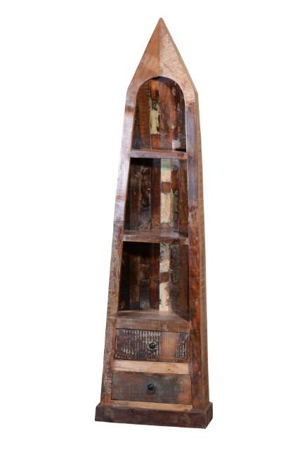 regal boot mit schubladen altes holz vintage m bel bei m belhaus hamburg. Black Bedroom Furniture Sets. Home Design Ideas