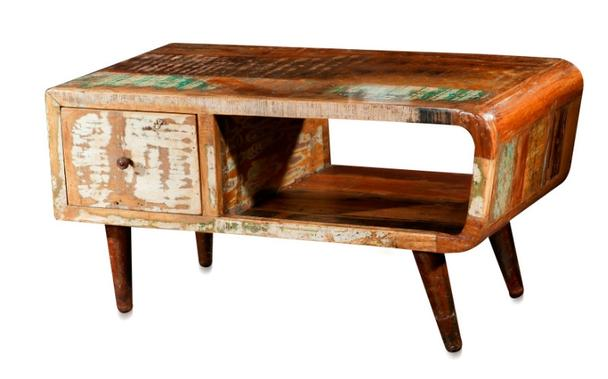 Retro Couchtisch Vintage Holz - Kommoden & Sideboards - industrielle ...