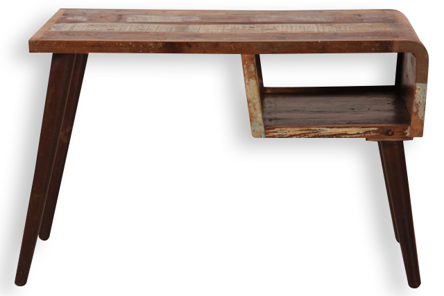 retro schreibtisch altholz vintage m bel bei m belhaus. Black Bedroom Furniture Sets. Home Design Ideas