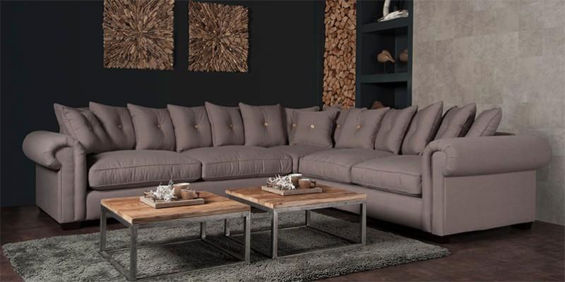 romantisches ecksofa landhaus atmosph re sofas couches. Black Bedroom Furniture Sets. Home Design Ideas