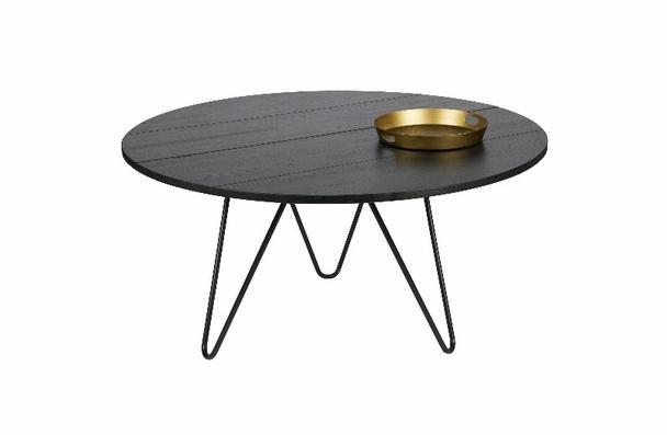 Runder Esstisch Eiche Geolt Schwarz Esstische Tische Bei