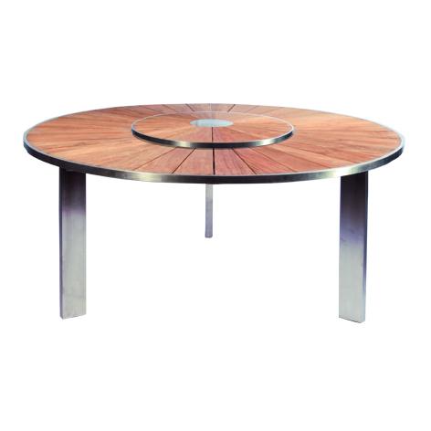 runder gartentisch catlitterplus. Black Bedroom Furniture Sets. Home Design Ideas