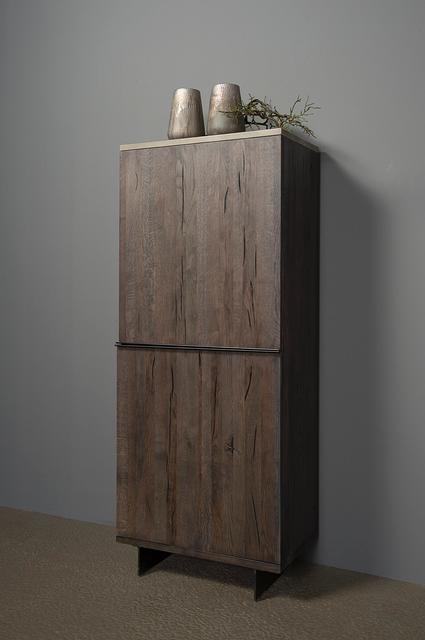 schrank 2 t rig eiche massiv schr nke industrielle. Black Bedroom Furniture Sets. Home Design Ideas