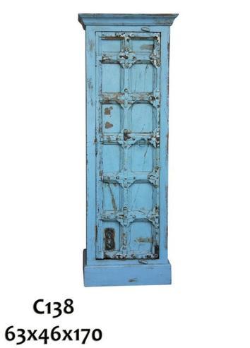 Schrank blau indisch alt schr nke vintage m bel bei for Schrank indisch