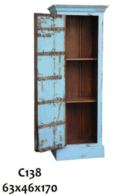 Schrank blau indisch alt - Schränke - Vintage Möbel bei Möbelhaus ...