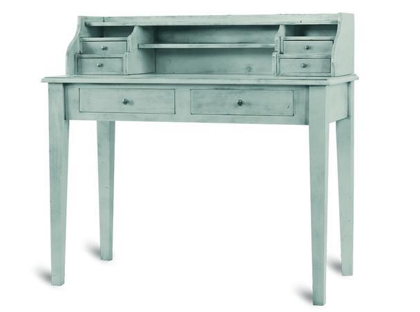 Schreibtisch weiß landhaus  Schreibtisch Landhausstil in weiß - Tische - Landhaus Möbel bei ...