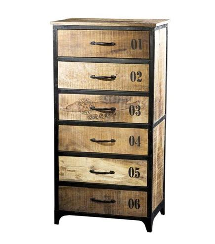 schubladen kommode industrial chic kommoden sideboards industrielle m bel bei m belhaus. Black Bedroom Furniture Sets. Home Design Ideas