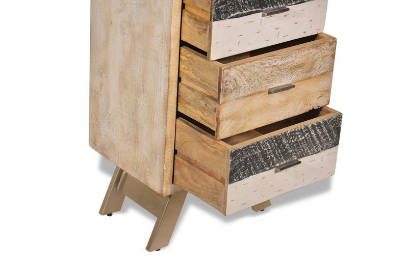 schubladenkommode massivholz vintage m bel bei m belhaus. Black Bedroom Furniture Sets. Home Design Ideas