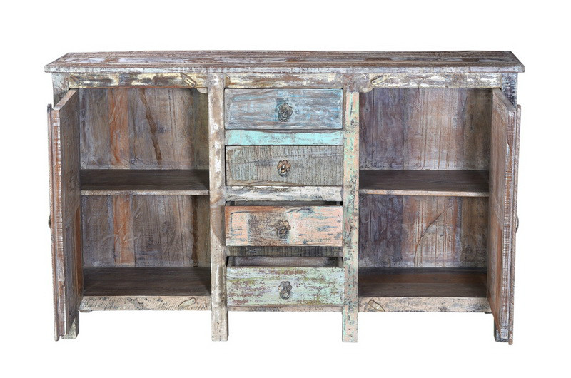 sideboard altem holz shabby vintage m bel bei m belhaus. Black Bedroom Furniture Sets. Home Design Ideas