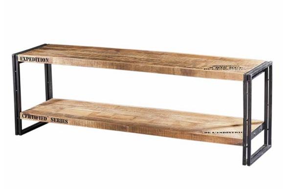 sideboard f r tv industrial chic lowboards kommoden. Black Bedroom Furniture Sets. Home Design Ideas