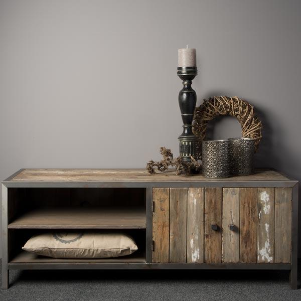 Sideboard industrial altholz sideboards kommoden for Industriele meubels goedkoop