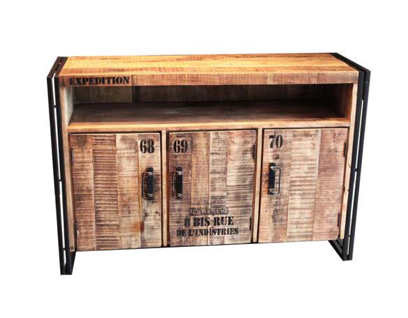 sideboard industriell kommoden sideboards industrielle m bel bei m belhaus hamburg. Black Bedroom Furniture Sets. Home Design Ideas