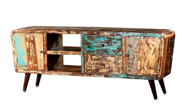 sideboard industriell aus altem holz kategorien. Black Bedroom Furniture Sets. Home Design Ideas