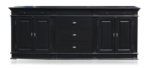 sideboard landhausstil schwarz produkte m belhaus hamburg. Black Bedroom Furniture Sets. Home Design Ideas
