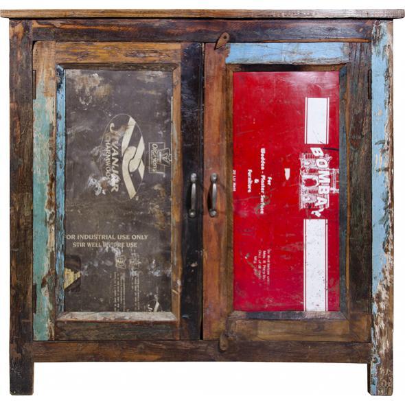 sideboard recycling mit t ren vintage m bel bei. Black Bedroom Furniture Sets. Home Design Ideas