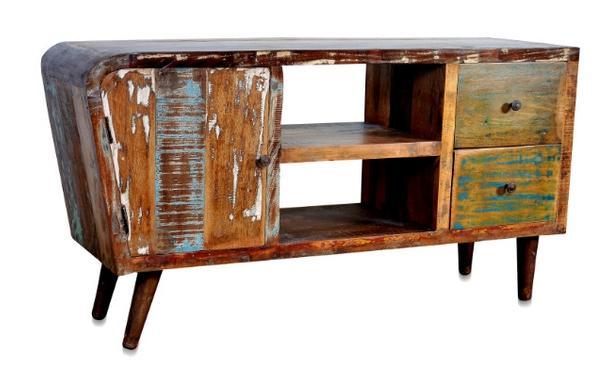 sideboard retro style shabby chic industrielle m bel bei m belhaus hamburg. Black Bedroom Furniture Sets. Home Design Ideas