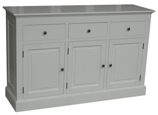 sideboard wei landhaus kommoden sideboards bei m belhaus hamburg. Black Bedroom Furniture Sets. Home Design Ideas