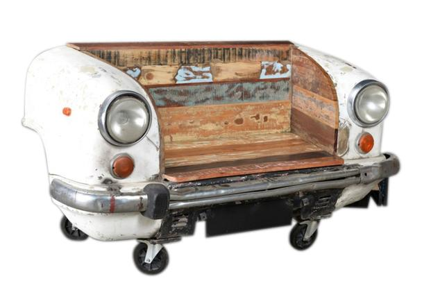 Sitzbank altes Auto Front - Sitzbänke - Vintage Möbel bei Möbelhaus ...