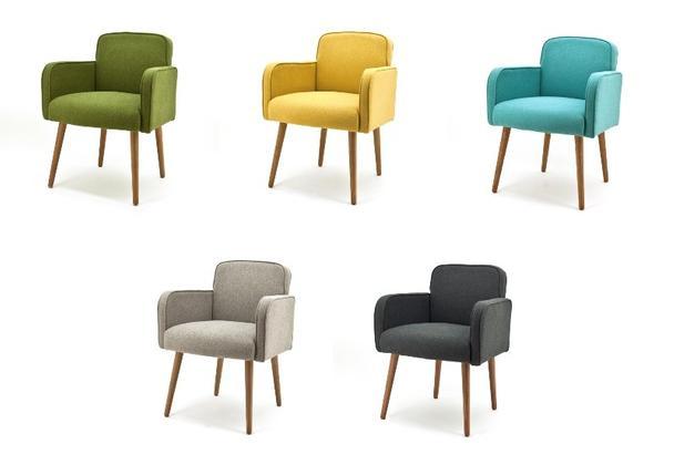 stoffstuhl mit armlehnen filz st hle sofas sessel. Black Bedroom Furniture Sets. Home Design Ideas