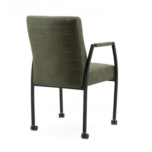 Stuhl auf rollen modern industrial chic bei m belhaus - Stuhl auf rollen ...