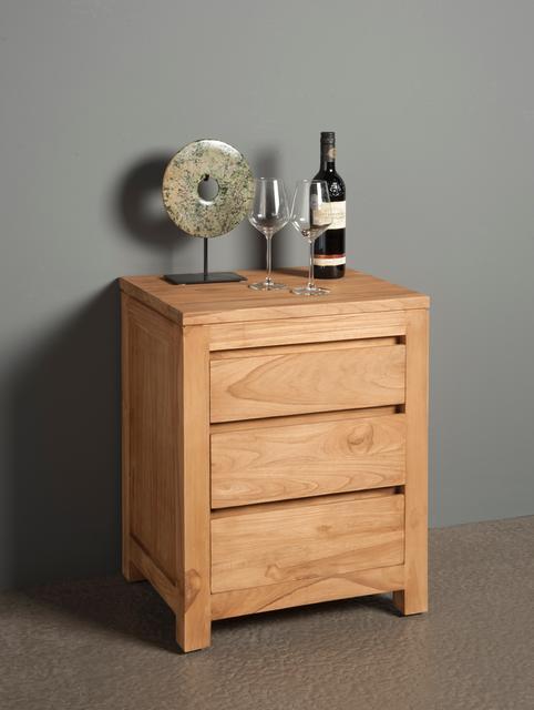 teakholz nachtschrank schlichtes design betten teak m bel bei m belhaus hamburg. Black Bedroom Furniture Sets. Home Design Ideas