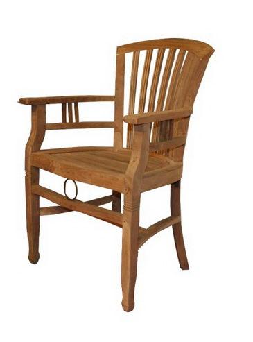 teakholz stuhl mit armlehnen sofas sessel st hle bei m belhaus hamburg. Black Bedroom Furniture Sets. Home Design Ideas