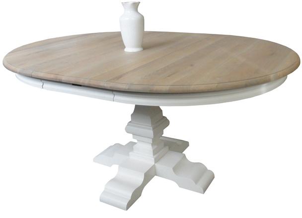 Tisch Rund Ausziehbar Esstisch Landhausstil Bei Mobelhaus Hamburg