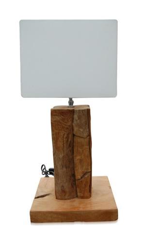 tischlampe root eckig mit schirm eckig tischleuchten. Black Bedroom Furniture Sets. Home Design Ideas