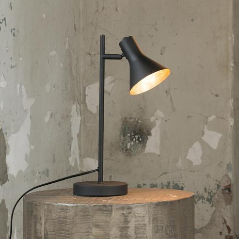 tischlampe schwarz gold tischlampen bei m belhaus hamburg. Black Bedroom Furniture Sets. Home Design Ideas