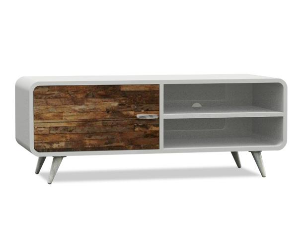 Tv sideboard modern  TV-Lowboard Modern Hamburg - Kommoden & Sideboards - Teak Möbel ...