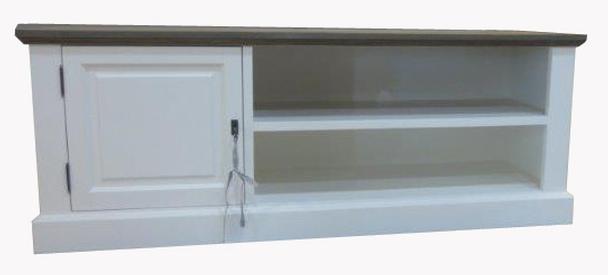 tv lowboard wei tv schr nke schr nke landhaus m bel bei m belhaus hamburg. Black Bedroom Furniture Sets. Home Design Ideas