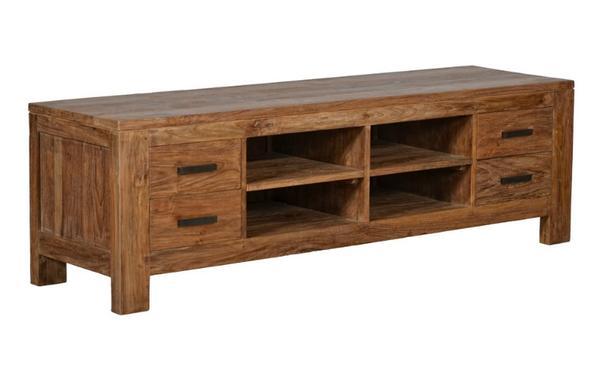 tv schrank teakholz inspirierendes design f r wohnm bel. Black Bedroom Furniture Sets. Home Design Ideas