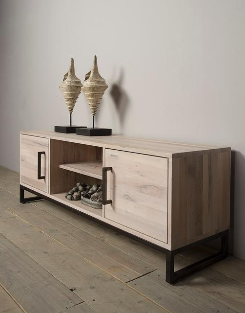 tv schrank eiche hamburg kommoden sideboards. Black Bedroom Furniture Sets. Home Design Ideas