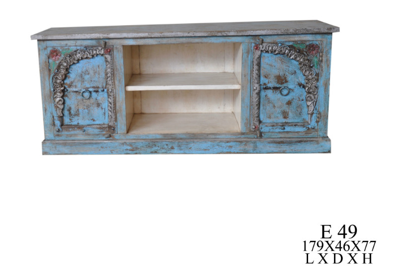 TV Sideboard aus Indien blau - Kommoden & Sideboards - Vintage Möbel ...