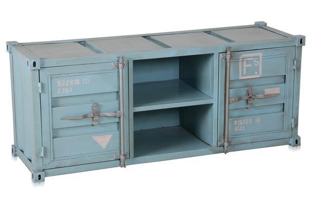 Tv Sideboard Containeroptik Containermobel Industrial Sideboard