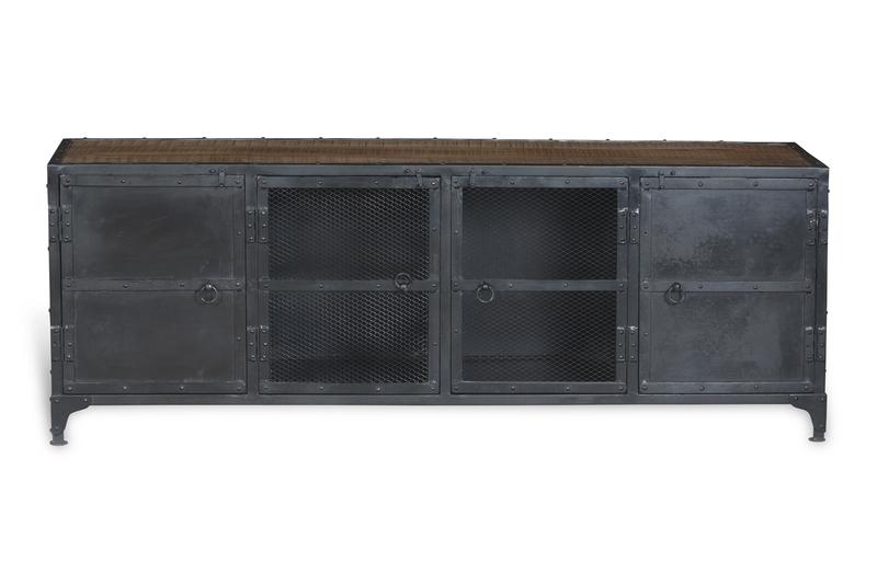 tv sideboard industrial chic kommoden sideboards. Black Bedroom Furniture Sets. Home Design Ideas