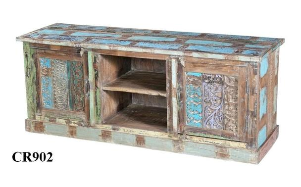 TV Sideboard Shabby Chic aus Indien bunt - Kommoden & Sideboards ...