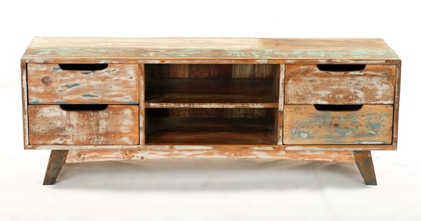 tv sideboard shabby chic mit schubladen bestseller bei. Black Bedroom Furniture Sets. Home Design Ideas
