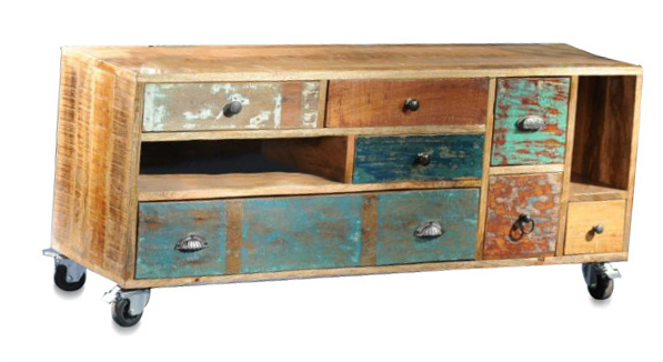 TV Sideboard Shabby Chic Vintage Style